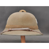 Militaria CASQUE TROPICAL M42 GERMAN HEER SUD FRONT AFRIKA KORPS 1942 - Allemange WW2 {PRODUCT_REFERENCE} - 1