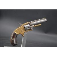 Handguns REVOLVER MARLIN XXXSTANDARD 1870 type SMITH & WESSON Calibre 32 RF court - USA XIXè {PRODUCT_REFERENCE} - 1
