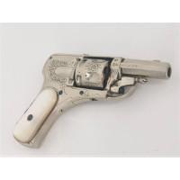 Armes de Poing REVOLVER de LUXE BOSSU HAMMERLESS BULLDOG Calibre 6.35 ELG - Belgique XIXè {PRODUCT_REFERENCE} - 1