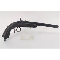 Handguns PISTOLET FLOBERT TIR DE SALON CALIBRE 6MM ANNULAIRE - Belgique XIXè {PRODUCT_REFERENCE} - 1