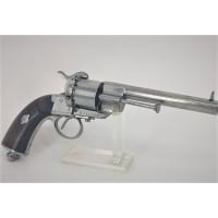 Handguns REVOLVER LEFAUCHEUX Modèle 1854 Civil Calibre 12mm à Broche - France second Empire {PRODUCT_REFERENCE} - 1