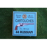 Rechargement Munitions BOITE DE MUNITIONS PN Cartouches CALIBRE 44 RUSSIAN {PRODUCT_REFERENCE} - 1