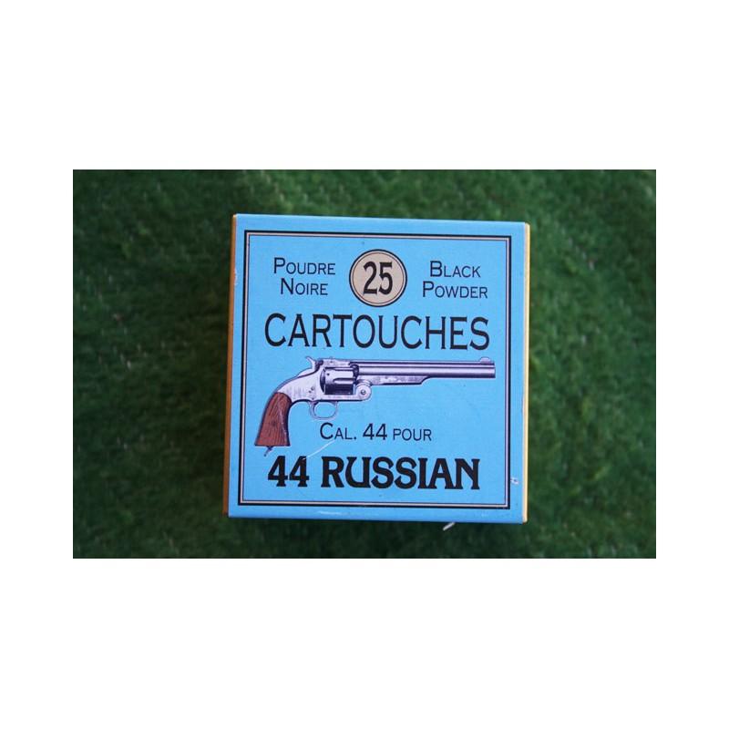 BOITE DE MUNITIONS DE RECHARGEMENT - CALIBRE 44 pour 44 RUSSIAN