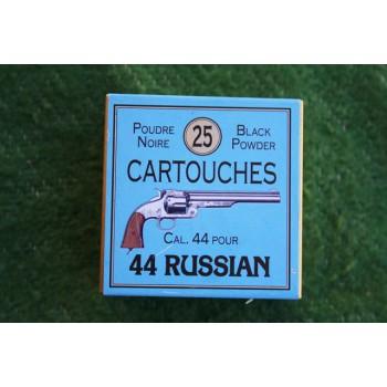 BOITE DE MUNITIONS PN Cartouches CALIBRE 44 RUSSIAN
