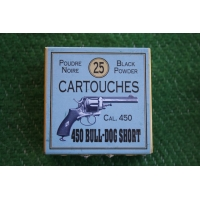 BOITE DE MUNITIONS DE RECHARGEMENT - CALIBRE 450 BULL DOG
