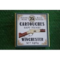 BOITE DE MUNITIONS DE RECHARGEMENT - CALIBRE 44 HENRY pour WINCHESTER Mle 1866